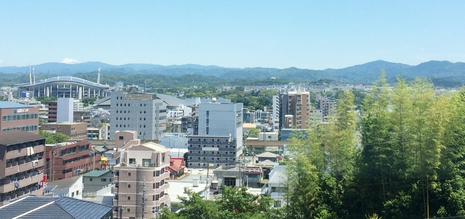 愛知県豊田市の風景